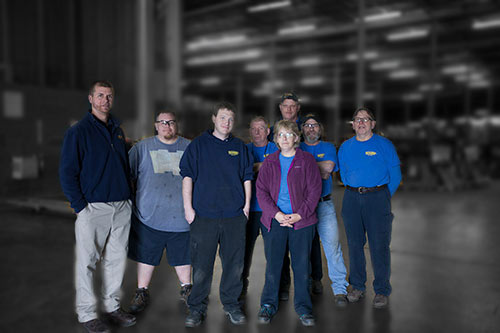 Grossett facility staff