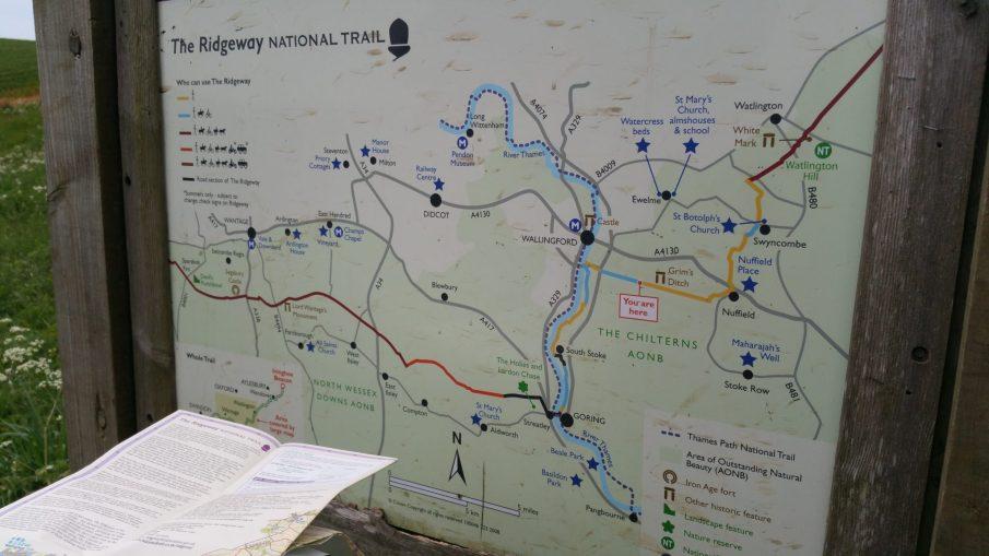 Ridgeway Walk – Aston Rowant to Goring