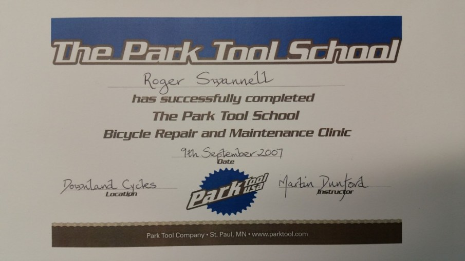 Park Tool School Bicycle Repair and Maintenance Clinic
