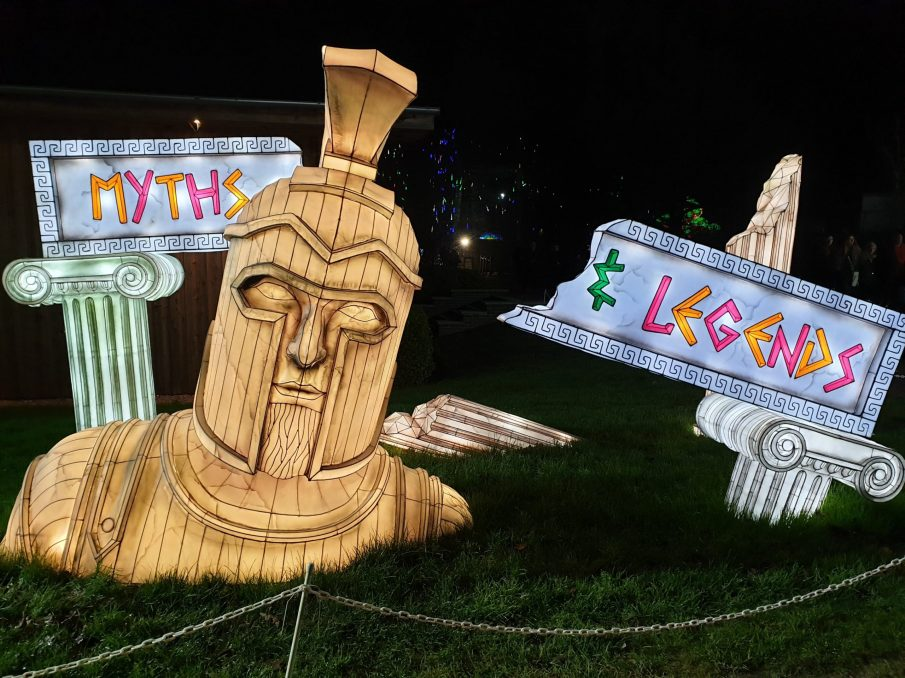 Myths and legends - Festival of light at Longleat