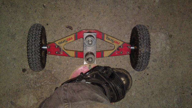 New set-up nosno mountainboard