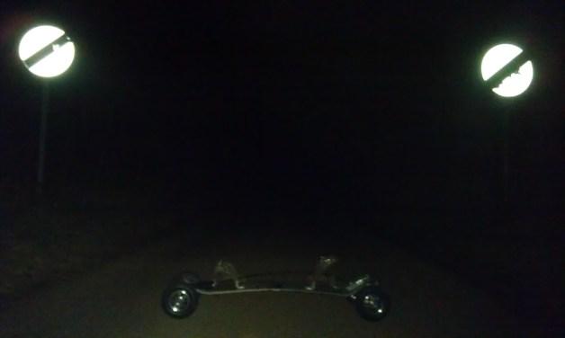 Hyper board at night