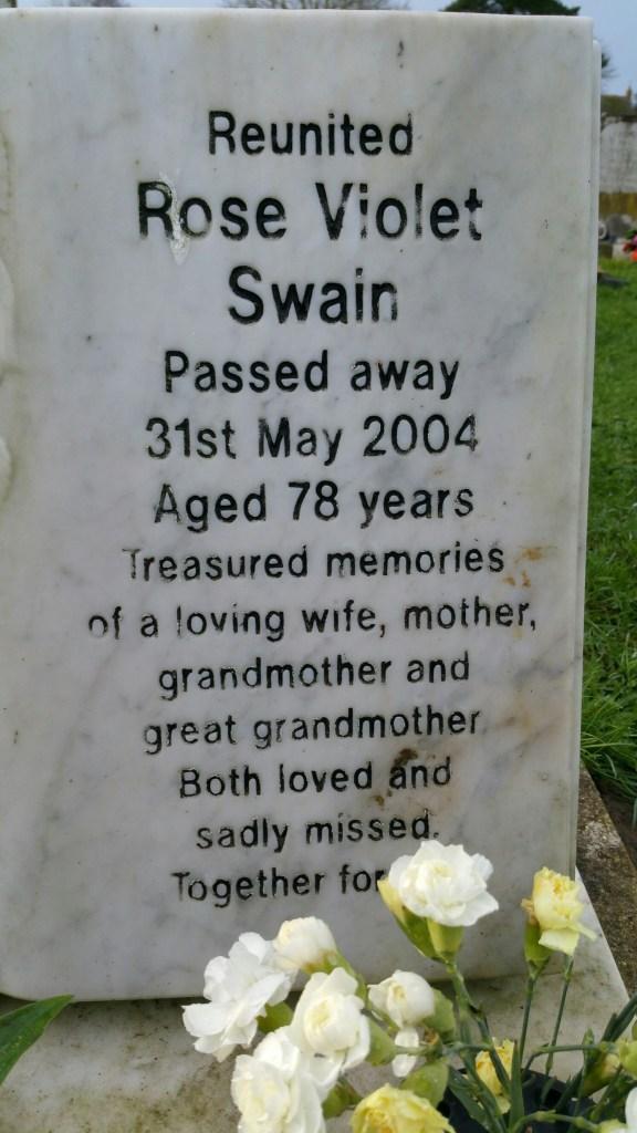 Nan died