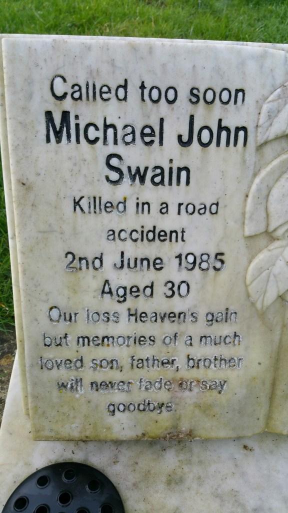 Uncle Mick died