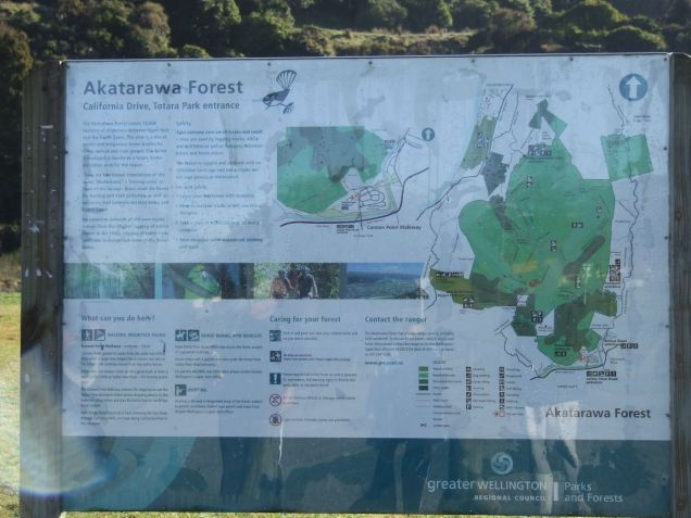 Akatarawa Forrest sign