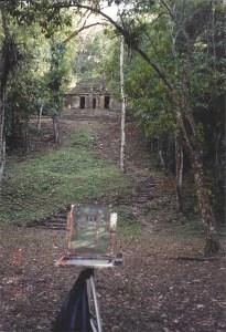 roger williams painting Mayan ruins