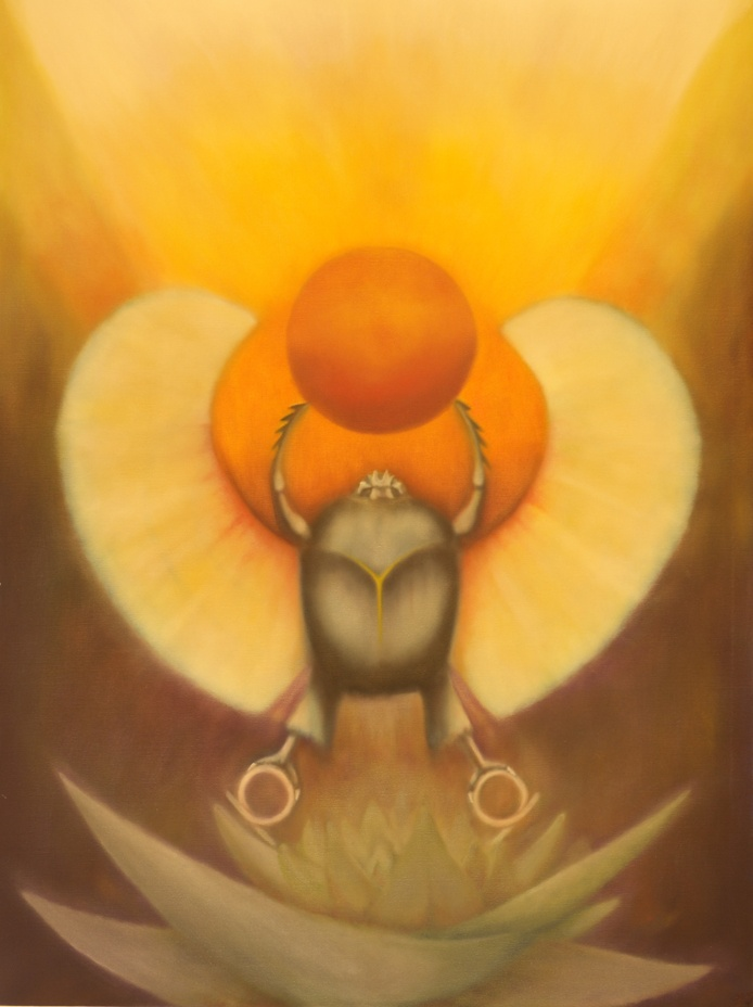 Kephra, ancient egypt, symbolism, symbolic art, magick, tarot