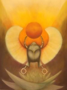 Tarot of the Morning Star Kephera Egyptian God