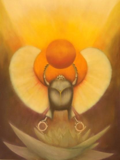 Kepheri, Symbolism, Ancient Egyptian God