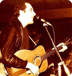 myself at the Rock Garden, Covent Garden, sometime around 1976 2 crop