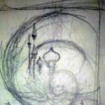 sketches, sketch, drawings, kubla khan, symbolic art, art symbolism, alchemy, psychedelic