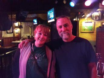 Chris with Megan Ramhoff