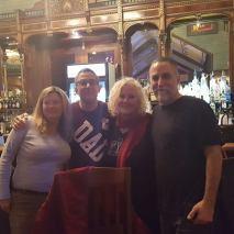 Yale Brothers and Ladies at HOB Bar