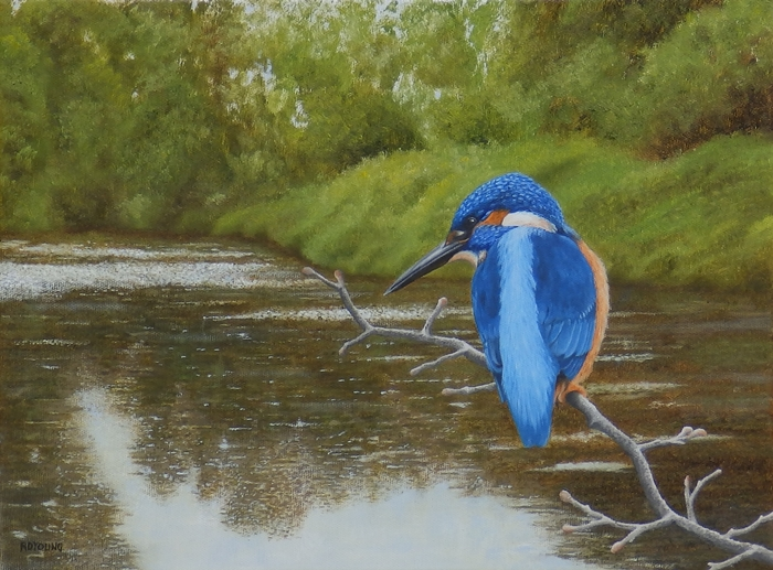 Habitat Kingfisher Blue Paint
