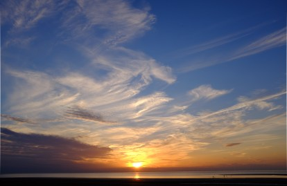 Sunset - Brancaster beach