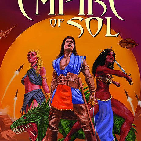 SCOTT ODEN PRESENTS THE LOST EMPIRE OF SOL front cover