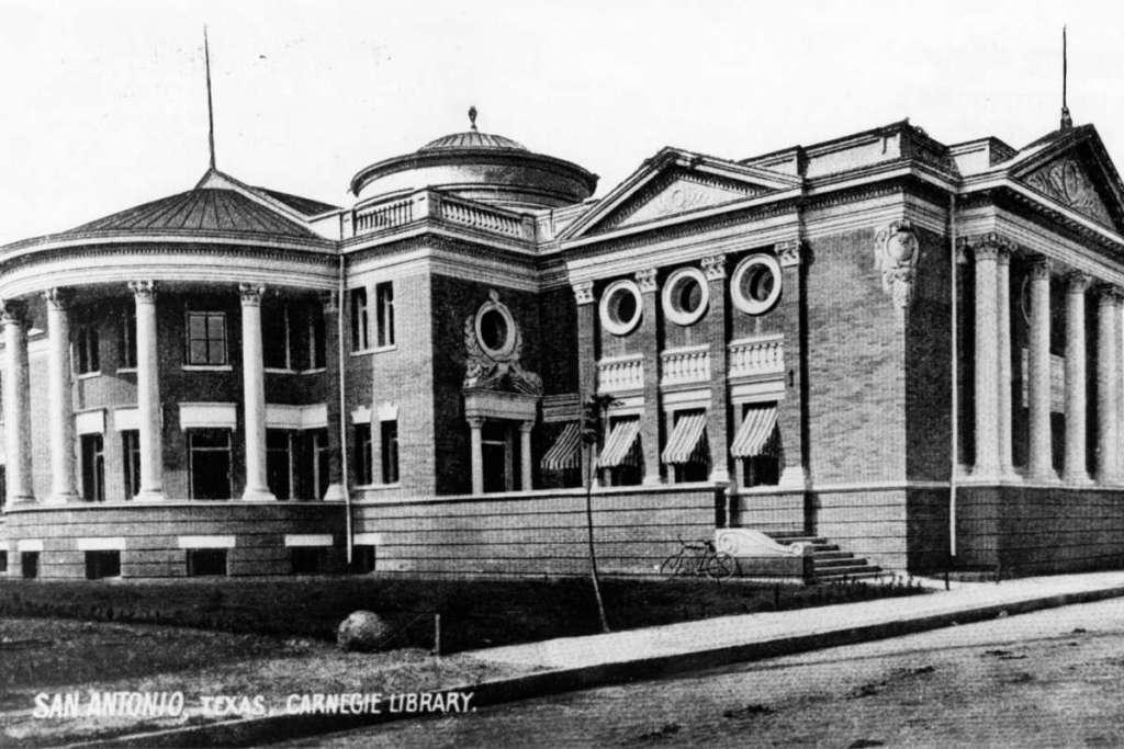 San Antonio, Texas, Carnegie Library (1903)