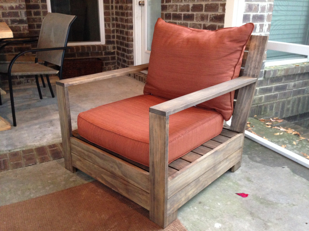 belvedere outdoor lounge chair plans