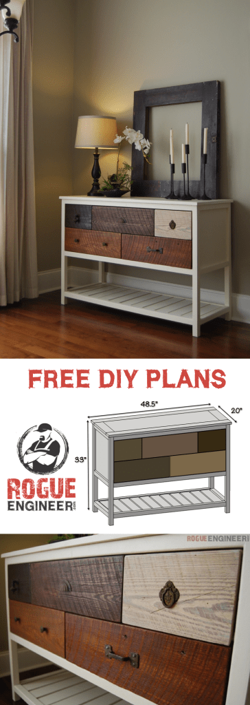 free console table plans rogue engineer