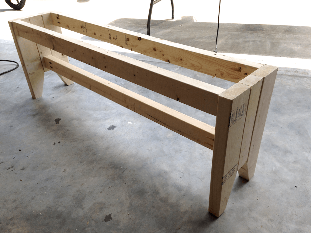 Diy Farmhouse Bench Free Plans Rogue Engineer
