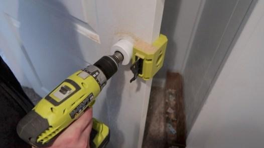 Replacing an interior door 16