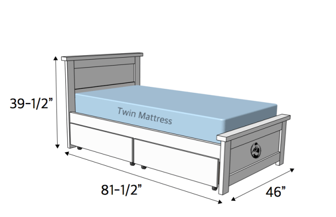 Build Twin Bed Frame With Storage Viewframes Co