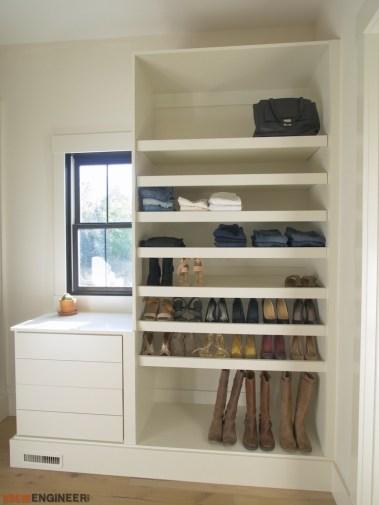 DIY Master Closet Plans Rogue Engineer 3
