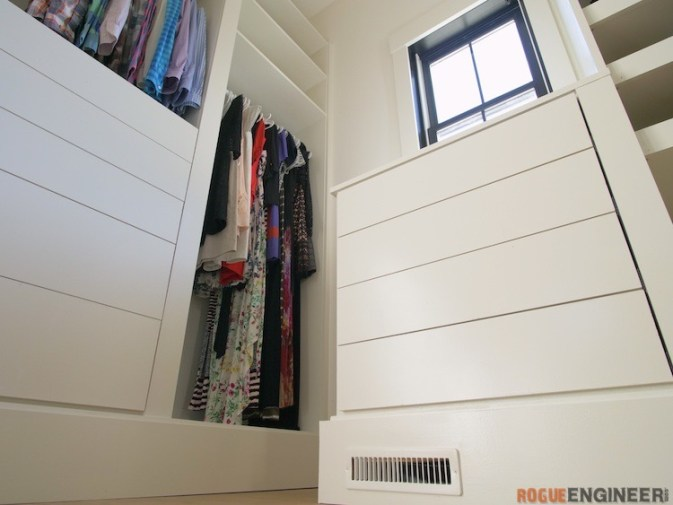 DIY Master Closet Plans Rogue Engineer 4