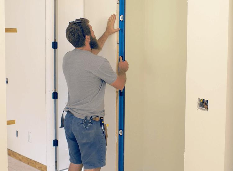 Installing A Prehung Interior Door Jamb Switch Rogue Engineer