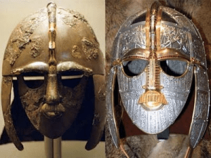 THE HELMETS OF THE ANCIENT WARRIORS OF BRITAIN?