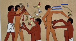CIRCUMCISION - PRACTICED BY THE PHAROAHS & ADOPTED BY THE OTHER ASSOCIATED SATANIC PARASITES.