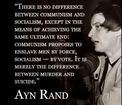 AYN RAND COMMUNISM
