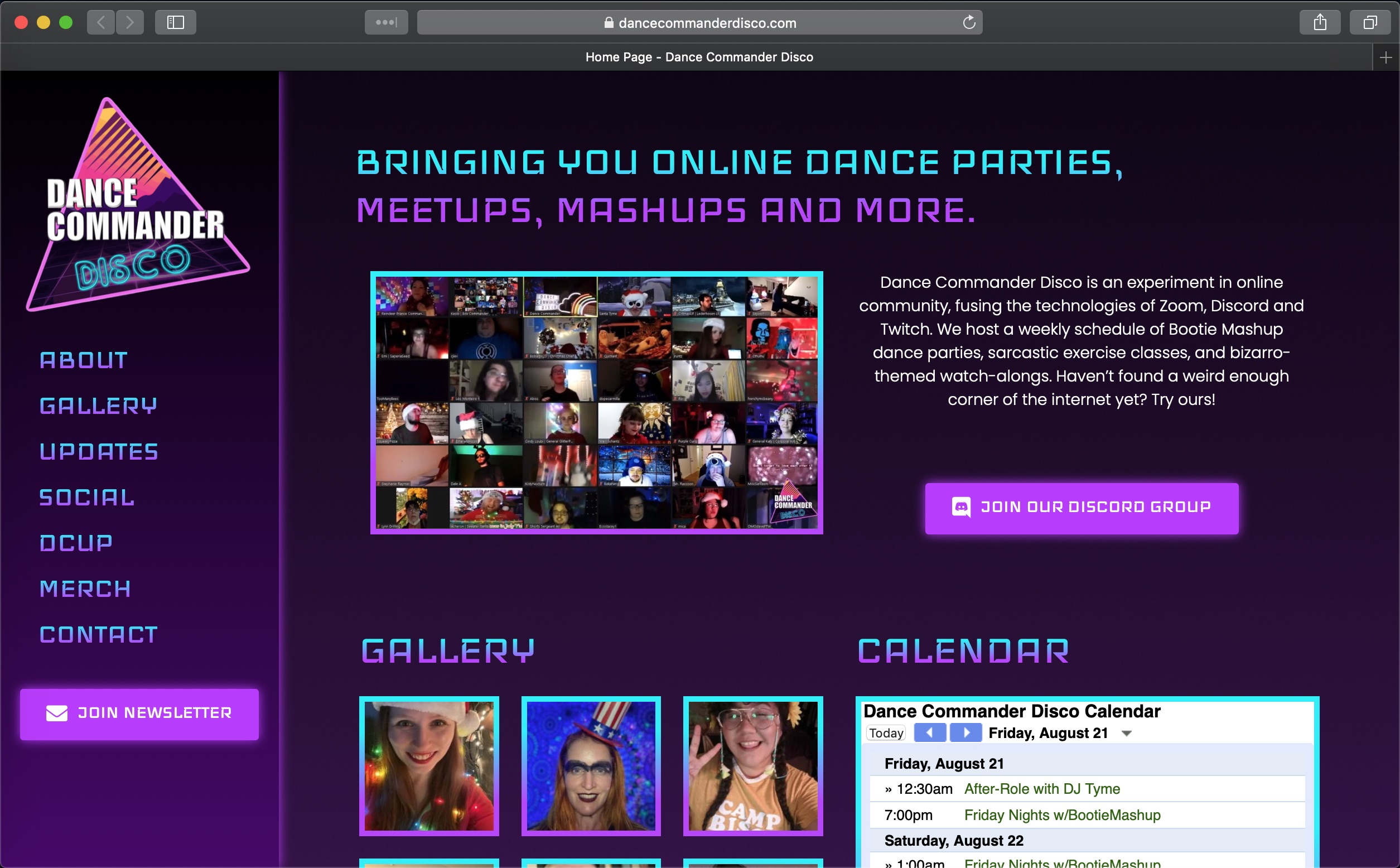 Dance Commander Disco