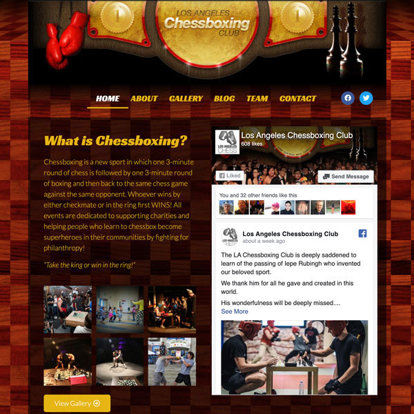LA Chessboxing Club