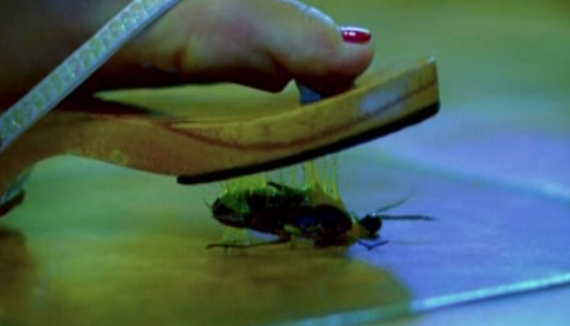 For the film Red Velvet, a cockroach was needed that could be swept to the floor and crushed, releasing copious amounts of goo.