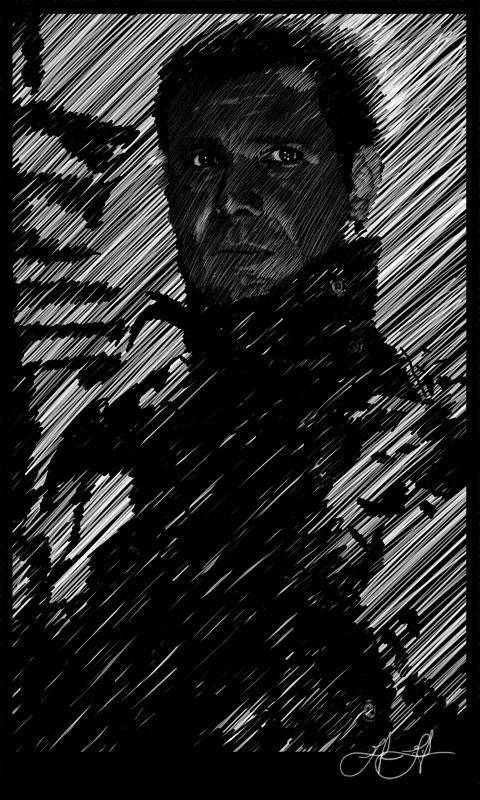 Sketch - Blade Runner: Illustration
