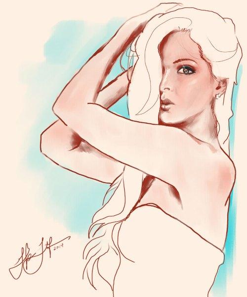 Portrait Sketch: Illustration