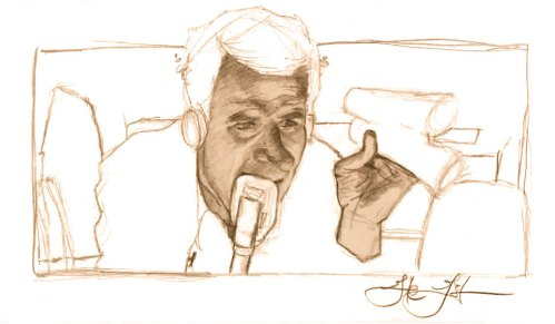 Movie Still Sketch: Illustration