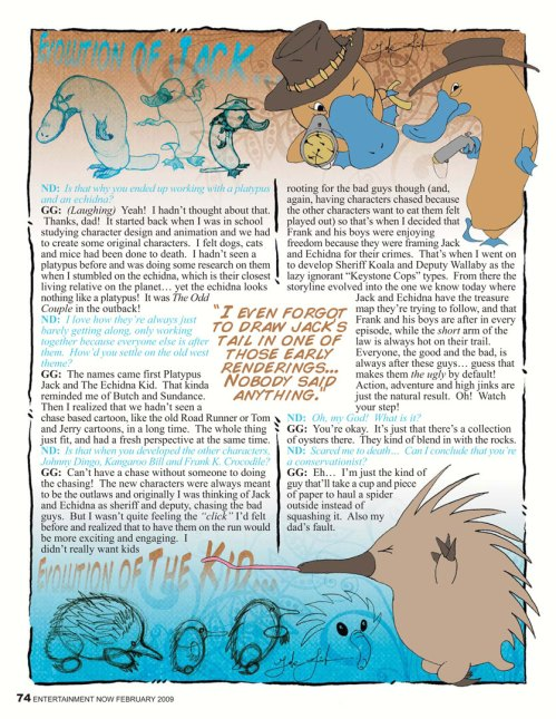Pitch Material: Character Design, Illustration, Graphic Design, Writing, Layout (p.4)