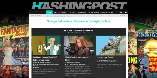 Web Design: The Hashing Post