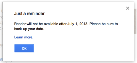 Google リーダー 1000