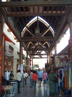 The Fashion Souks at Dubai's waterfront is a site to behold., and a great place to do some shopping.