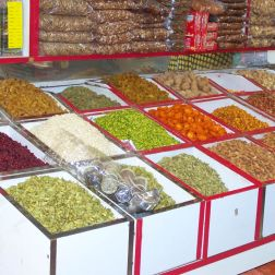 The Spice Souks of Dubai are a sea of colours and aromas.