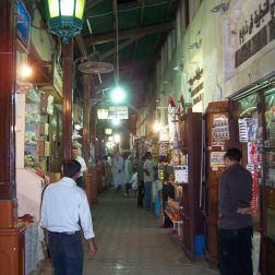 Market vendors selling their wares at the souks of Dubai is an amazing place to visit on 48 hours to Dubai.