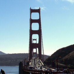 Roguetrippers have crossed the Golden Gate Bridge in San Francisco many times.