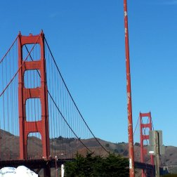 Golden Gate bridge Is the most iconic bridge, and most photographed bridge in the world.