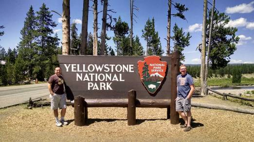 Roguetrippers visit Yellowstone National Park