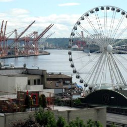 The Aquarium and a giant Ferris wheel located on the Pier 59 of waterfront were a must for Roguetrippers to visit in May 2015.