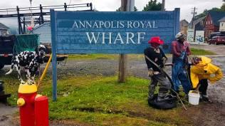 Roguetrippers and Randoms Travels visit Annapolis Royal Nova Scotia on a road trip