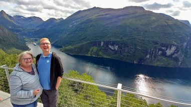 Roguetrippers took a cruise to Norway in August 2018
